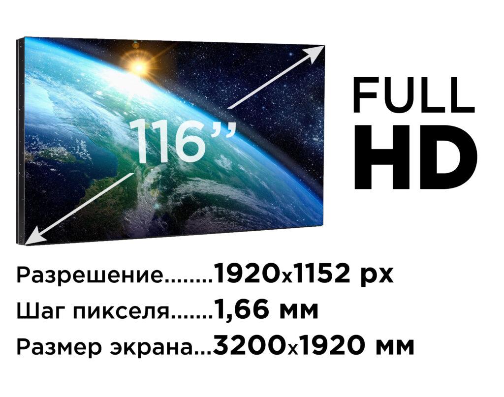 LED-экран для домашнего кинотеатра 116