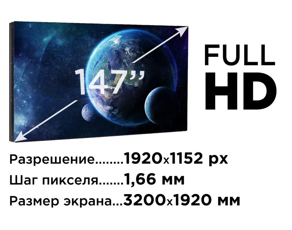 LED-ЭКРАН для домашнего кинотеатра 147